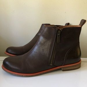 Lucky Brand Leather Brown Boots
